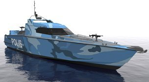 18m - Stealth Patrol Craft
