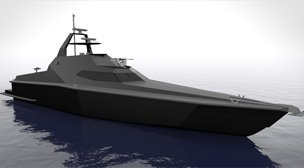 25m - Stealth Patrol Craft