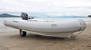 4m - Penguin Integrated Trailer Boat